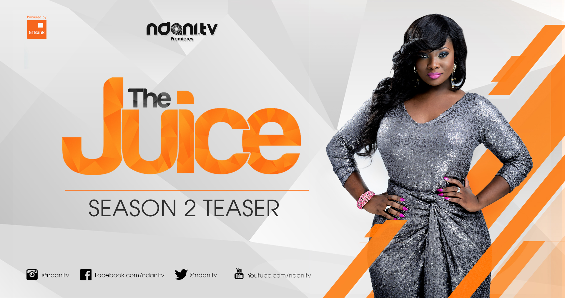 Tool on the cover of GTBank-powered Ndani TV's The Juice Season 2. (Image Source: Ndani.tv)